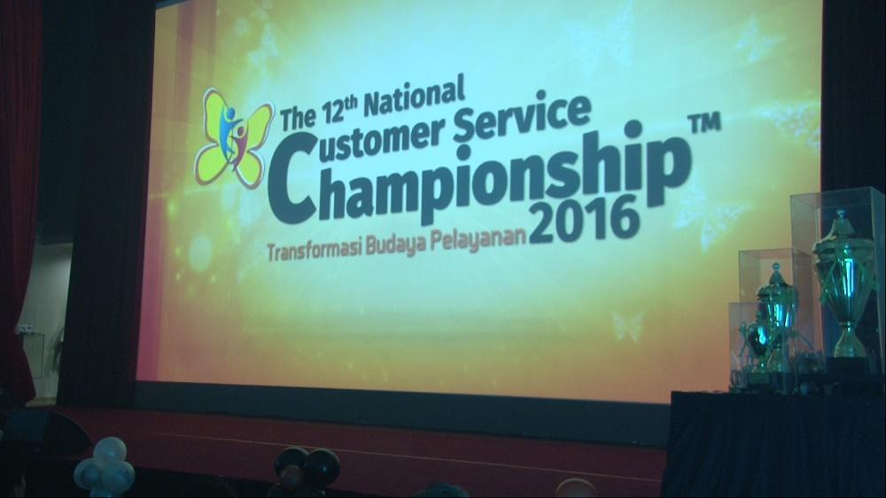 "Ini Dia Para Grand Champion ""The 12th National Customer Service Championship 2016"""