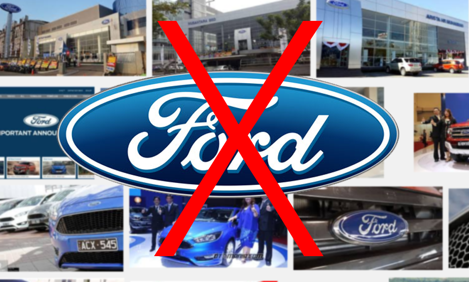 Akhirnya Ford Menyerah juga, Resmi Tutup Beroperasi di Indonesia
