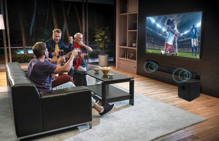 Cinemax Soundbar, Televisi yang Mampu Getarkan Ruang Keluarga Anda