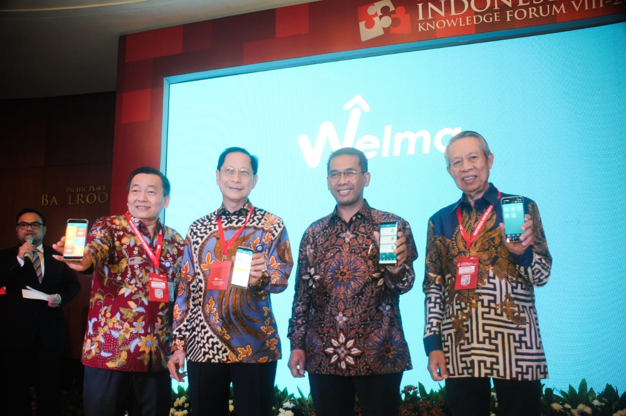 BCA Luncurkan Aplikasi Wealth Management WELMA di Ajang Indonesia Knowledge Forum VIII 2019