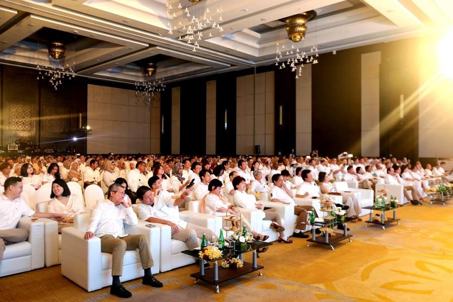 Laju Bisnis Semakin Meningkat, Rayakan HUT Ke- 33 Tahun CNI Ajak Ribuan Anggota Ke Bali